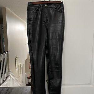 Aritzia Melina Leather Pants